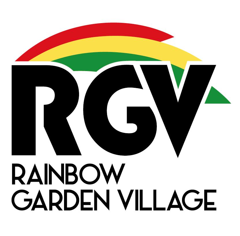 Logo Rainbow Garden Village