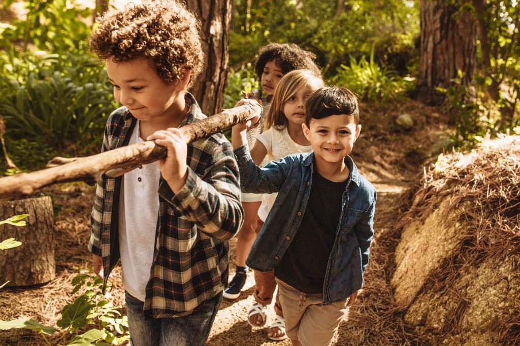Feriencamps finden auf Kindaling